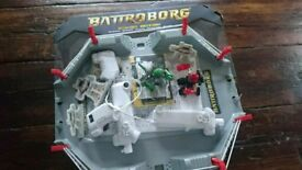 Battroborg Arena with Two Fighting Robots