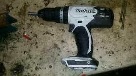 Makita lxt 18v cordless combi drill