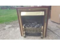 Electric stove coal fire flame effect heater