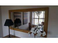 3 Drawer Sideboard + Mirror Bargain !!!