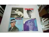 4 Sinatra Vinyl lps