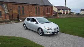 10 REG VAUXHALL ASTRA 1.4 SRI TURBO SILVER 5DR MOT-17 FSH 1-OWNER OUTSTANDING FREE-DELIVERY CHEAP !!