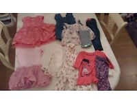 Baby girls 12 - 18 months 10 piece bundle