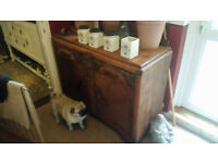 Oak Dresser. Sanded and Oiled