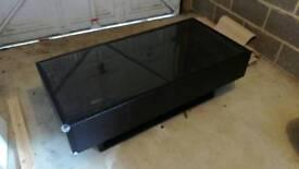 Ikea coffee table - black brown