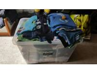 Box full of boys clothes from 0-4y