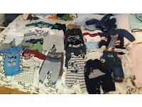 boys good condition 0-3 month bundel mostly f&f or next