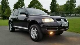 TOP OF RANGE + VW TOUAREG TDI AUTO 2460cc + DIESEL + SAT NAV & FULLY ELECTRIC + HPI CLEAR + ALLOYS +