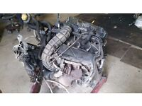 ford transit 2.0 tddi complete engine including pump turbo gearbox ecu ready to fit