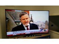 """Samsung 65"""" curved led/smart tv for sale at Morley tv sales, Leeds"""