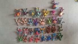 Masters of the universe he-man thunder cats turtles