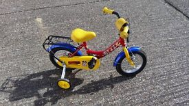"Quality KIDS BIKE 12"" FOR AGE 2-4 YEARS"