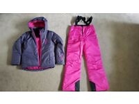 Girls Ski Jacket & Trouser Set Age 13/14