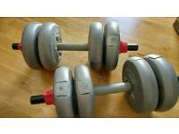 Dumb bell weights