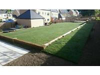 Turf laying and artificial grass. Supply and lay