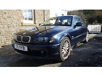 2003 BMW 318Ci, 8 month MOT, private plate. *SENSIBLE OFFERS*