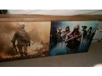 Gaming canvas