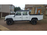 2003 LAND ROVER DEFENDER 130 TD5 XS Double Cab Pick up Twin Cab Crew van