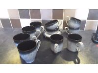 DENBY HALO SET OF MUGS AND CUPS