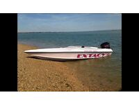 Brilliant speed boat for sale