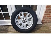 landrover freelander alloy wheel and tyre