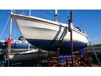 WESTERLY LONGBOW 31' SAILING CRUISER VOLVO 23HP £11950