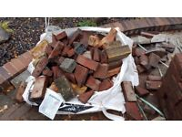 Clean brick rubble Free I can delivery within 5 Miles