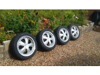 "Toyota/Nissan /mazda 17"" Alloys wheels"