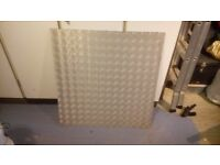 Aluminium Chequer Plate Board - Thick Large Sheet (4-5 mm Thick)