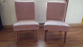 Two bedroom chairs