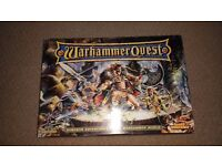 Warhammer Quest - 100% complete. The game has never been played and is in very good condition