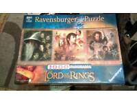 Lord of the Rings Jigsaws