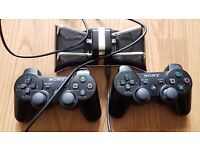 2 x controller Wireless Playstation 3 + CHARGING STATION