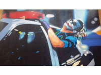 Oil Painting Joker, Heath Ledger, Batman
