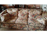 Large Floral Sofa Free