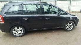 Vauxhall Zafira 58 plate