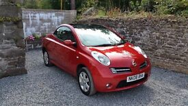 Nissan Micra Convertible c+c Mot until October 2017 3 MONTHS WARRANTY + BREAKDOWN RECOVERY