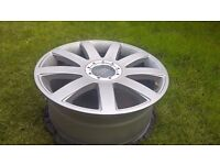 1PC 18 X 8 H2 VW AUDI RS4 RS6 S3 TT ALLOY WHEEL IN EXCELLENT CONDITION