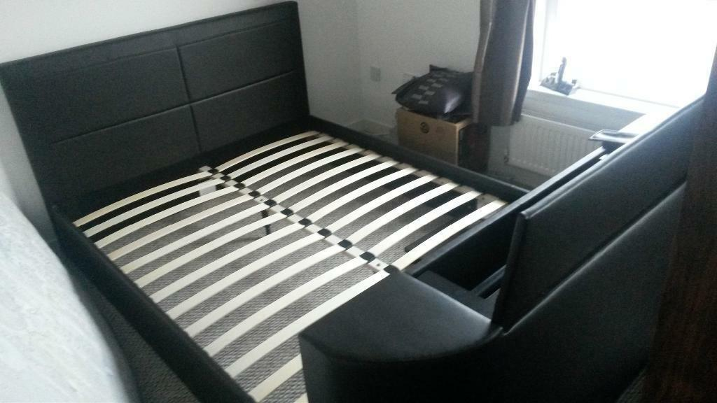 Gas Lift Tv King Size Bed Frame In Glasgow Gumtree