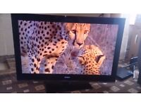 SONY BRAVIA 40 LED TV FREEVIEW HD/3D/USB PORT/200HZ/SLIM DESIGN/24P PLAYBACK/ AS NEW NO OFFERS