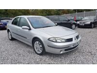 Renault LAGUNA 1870cc diesel, hatchback, manual, silver, 2005(55) mot 16/June/2017