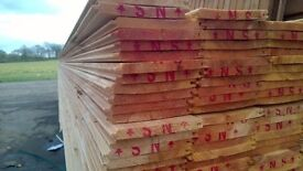 £1 Per Metre Tongue and Groove Scandinavian *A* Grade Timber Cladding Flooring boards Delivery Avl