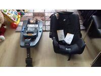 Joie Gemm Infant Car Seat + Joie isofix car seat base