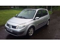 Renault Scenic Dynamique 1.6, 16V, 55000 Low Miles, 05 Plate, MOT MARCH 2017