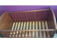 Pine Cot/Cot bed