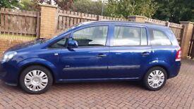 Vauxhall Zafira Life 2009 1.6 69,000 miles 7 seater *Full year MOT*