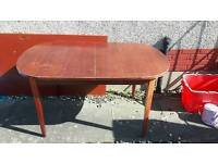 Solid wood dining table FREE
