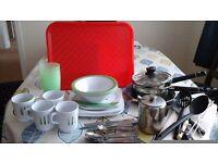 Crockery & cutlery for caravan/camper/motor home