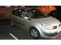 06 , 7seater, Renault scenic 2.0 , automatic