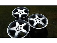 Mercedes AMG Alloy Wheels (1 front 2 rear)